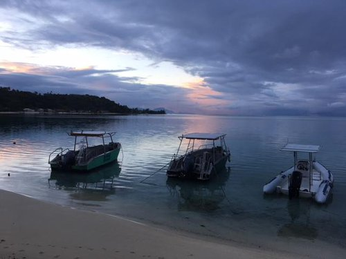 photo Bienvenue dans le cadre paradisiaque de Bora Bora, en Polynésie ...